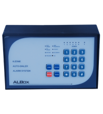 6 Zone Alarm Control Panel with door chime